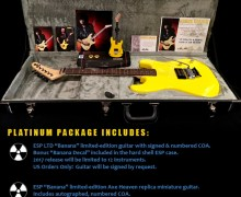 Ex-KISS Guitarist Bruce Kulick 'Crazy Nights' 30th Anniversary Guitar Package