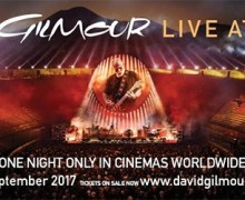 TODAY:  David Gilmour 'Live at Pompeii' in 2500 Movie Theaters