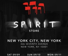 Depeche Mode Pop-Up Store New York City -Dates/Directions