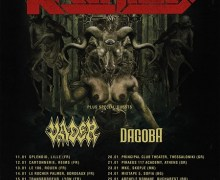 Kreator / Vader 2018 European Tour:  Decapitated Out – Vader In w/ Dagoba