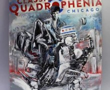Chance to Win Quadrophenia Painting Signed by Townshend, Vedder, Billy Idol, Alfie Boe