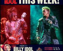 Billy Idol w/ Steven Stevens Week 2 in Vegas