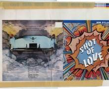 Bob Dylan 'Shot of Love' Album Artwork Proofs