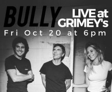 Bully @ Grimey's in Nashville Oct 20th