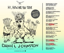 Daniel Johnston w/ Built to Spill – Portland, Vancouver, Seattle, Setlist, 2017