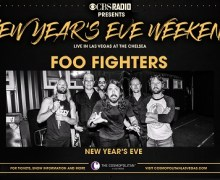 Foo Fighters Las Vegas New Year's 2017 @ Chelsea – Cosmopolitan, Tickets, VIP