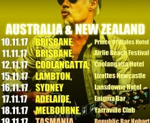 Ex-Sex Pistols' Glen Matlock Australia / New Zealand 2017 Tour Dates Announced