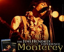 The Jimi Hendrix Experience: Live At Monterey Blu-ray, DVD