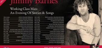 Jimmy Barnes 2018 Australia/New Zealand Tour, Tickets, Dates, 'Stories & Songs'