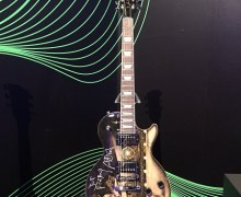 Joe Perry Custom Les Paul Up for Auction, Signed & Played, Artwork by Fleetwood Covington