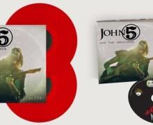 John 5 'It's Alive' New Live Album Announced for 2018