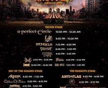 Knotfest Mexico 2017 Set Times – A Perfect Circle, Korn, Cannibal Corpse, Knot Fest