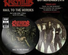 Kreator 'Hail to the Hordes' VIDEO + Picture Disc on Record Store Day Black Friday