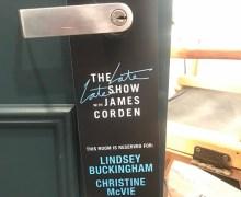 Lindsey Buckingham & Christine McVie on James Cordon