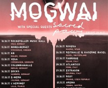 Mogwai European Tour 2017 – October, Shows, Tickets