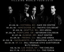 Queens of the Stone Age 2018 U.S. Tour Dates Announced