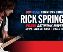 Free Concert: Rick Springfield Orlando, FL