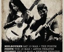 Rodrigo y Gabriela 2018 Australia Tour Announced, Tickets, Dates