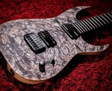 Schecter USA KM7 MKIII – Custom Keith Merrow of Alluvial by John Gaudesi
