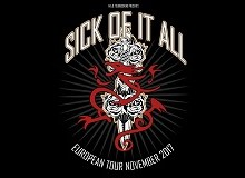 Sick Of It All 2017 European Tour – Germany, Italy, France, Spain