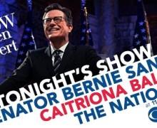 The National on Stephen Colbert Tonight