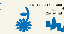 Postponed: The National w/ Daughter @ The Greek Theatre, Berkeley