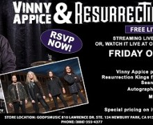 Ex-Dio, Black Sabbath, Quiet Riot, Giuffria Members to Live Stream Concert, GoDpsMusic