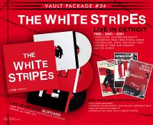 The White Stripes 'Live in Detroit' 3 LP, Vinyl – 1999 – 2000 – 2001
