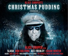 Alice Cooper's 16th Annual Christmas Pudding w/ Edgar Winter, Slash, Rob Halford, Ace Frehley, Filter