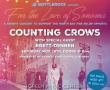 Sonoma Benefit Concert w/ Counting Crows & Brett Dennen, Tickets