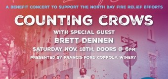 Sonoma Benefit Concert w/ Counting Crows & Brett Dennen, Tickets