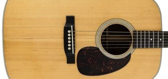 Bob Dylan's D-28 Martin Guitar Sold at Auction