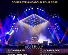 Bob Mould & Foo Fighters 2017 Tour Dates, Tickets, Nampa, Billings, Casper, Salt Lake City