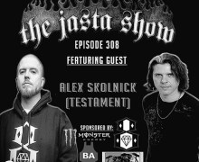 The Jasta Show Podcast w/ Alex Skolnick of Testament, Listen