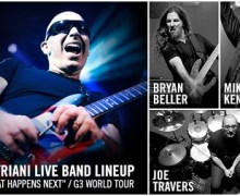 Joe Satriani 2018 Touring Band Lineup Announced