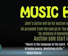 John McLaughlin Guitar Auction – Custom Paul Reed Smith