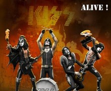 "KISS ""ALIVE !"" Rock Iconz™ Statues by KnuckleBonz"