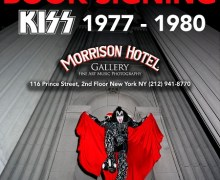 Lynn Goldsmith Book Signing 'KISS: 1977-1980' @ Morrison Hotel in New York, NY