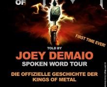 Manowar 2019 Spoken Word Tour Germany Dates w/ Joey Demaio