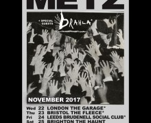 Metz UK Tour 2017, Tickets, London, Brighton, Bristol, Leeds