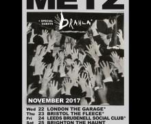 Metz UK Tour 2017, Tickets, London, Brighton, Bristol, Leeds