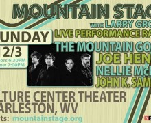 The Mountain Goats @ Mountain Stage Radio Show, Tickets, Charleston, WV