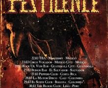 Pestilence 2018 Latin America Tour, Mexico, South America, Chile, Columbia, Peru