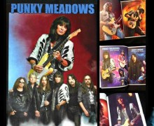 Ex-Angel Guitarist Punky Meadows Tour Photo Book
