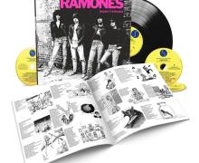 Ramones 'Rocket to Russia' 40TH ANNIVERSARY DELUXE EDITION – 3CD/1LP,VINYL