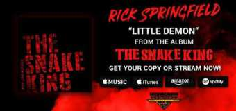 "Rick Springfield ""Little Demon"" New Song Premiere"