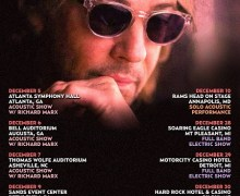 Rick Springfield 2017 Tour in December, Richard Marx Atlanta, Augusta, Asheville