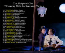 The Weepies Tour 2018, Tickets, Dates, Schedule