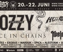 2018 Tons of Rock:  Ozzy, Alice in Chains, Helloween, Exodus, Tickets, Lineup Announced