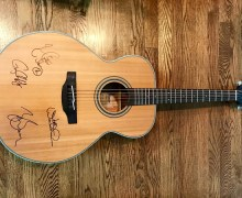VetAid Guitar Auction:  Signed by Joe Walsh, Zac Brown, Keith Urban & Gary Clark Jr.